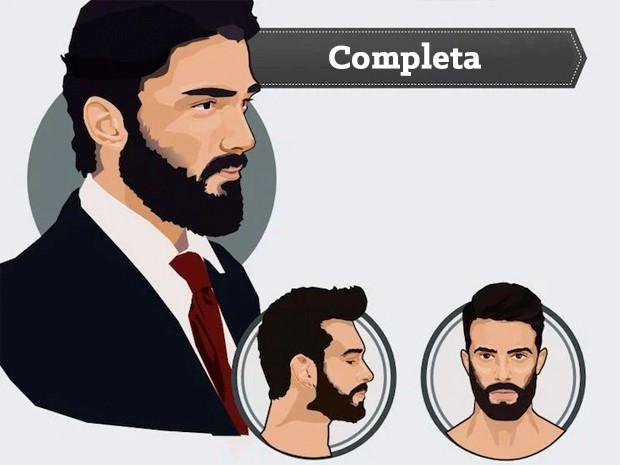 Barba completa